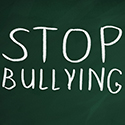 Stop Bullying Chalk Message
